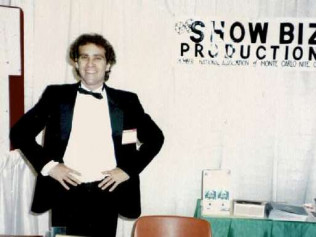 Steve Phillips at a Trade Show in 1986