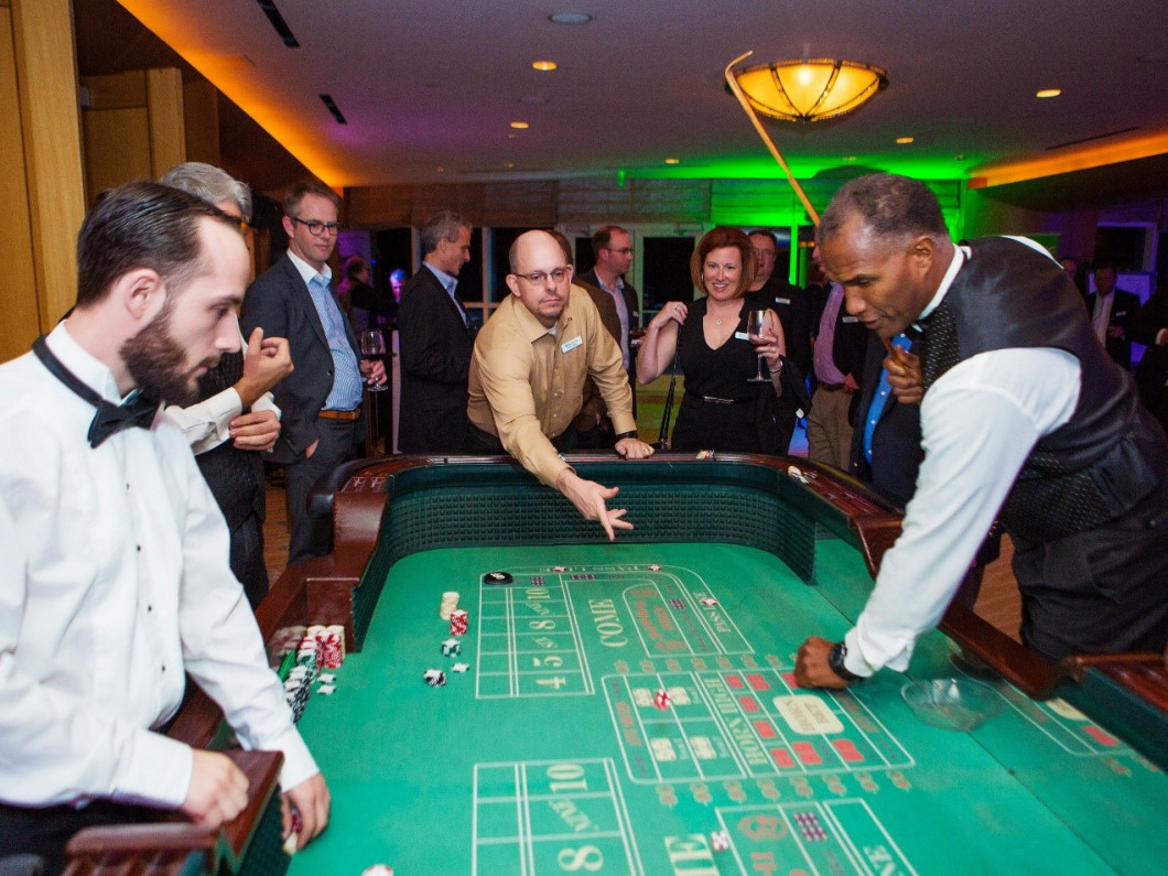 Show Biz Productions now offers a professional Craps tournament for your next event!